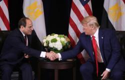 """ترامب يصف الرئيس المصري عبد الفتاح السيسي بأنه"""" زعيم حقيقي"""""""