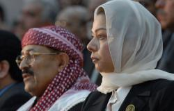"""""""نسل أبطال القادسية""""... رغد صدام حسين تعلق على التظاهرات """"الدموية"""" المطالبة بإقالة الحكومة"""