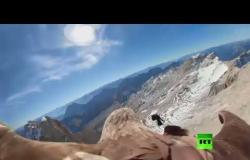 """جبال الألب """" بعيون نسر"""""""