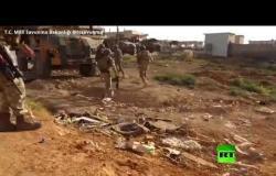 بالفيديو.. وصول الجيش التركي إلى طريق الحسكة حلب الدولي