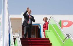 الرئيس الروسي يغادر السعودية