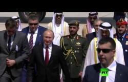الرئيس الروسي فلاديمير بوتين يصل إلى الإمارات