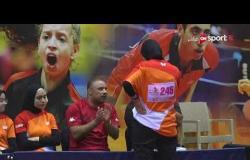 المباراة السادسة بين منتخب مصر ضد روسيا ولبنان منتخب مشترك تحت 18 سنة بنات - بطولة مصر الدولية