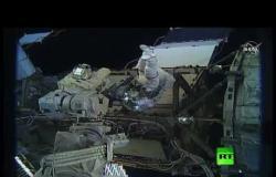 لأول مرة.. خروج الرائدتين الأمريكيتين إلى الفضاء المفتوح