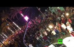 الشعب يريد إسقاط النظام! - مظاهرة لمحتجين لبنانيين على الأوضاع الاقتصادية في البلاد
