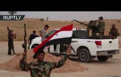 الجيش السوري يدخل قاعدة الطبقة الجوية لأول مرة منذ عام 2014