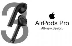 آبل قد تطلق سماعات AirPods Pro في نهاية أكتوبر