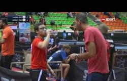 مباراة مصر Vs الهند (2-3) - بطولة مصرالدولية لتنس الطاولة