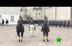 عرض الحرس الرئاسي في الكرملين