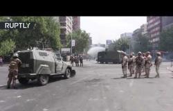 احتجاجات غاضبة في تشيلي