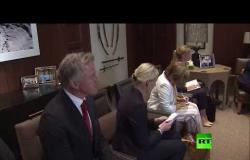 العاهل الأردني يلتقي بـ رئيسة وزراء النرويج في عمّان