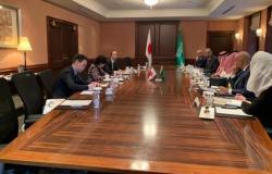 وزيرا الاقتصاد والتجارة السعوديان يلتقيان حاكمة طوكيو