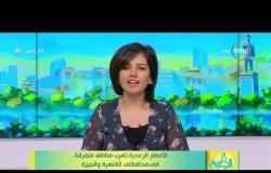 8 الصبح - الأمطار الرعدية تضرب مناطق متفرقة في محفاظتي القاهرة والجيزة