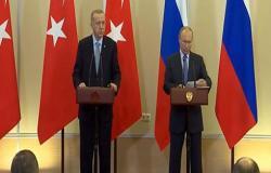 بالفيديو : بوتين: توصلنا مع أردوغان إلى حلول مصيرية حول سوريا