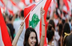 احتجاجات لبنان تدخل يومها السابع بالدعوة إلى إضراب عام