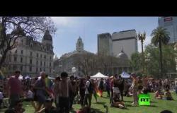 مسيرة ضخمة للمثليين في بوينس آيرس