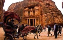 تشرين الأول المنصرم الأعلى بتاريخ البترا في استقبال السياح