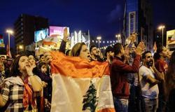 بالفيديو : لبنان.. تظاهرات حاشدة في مدينتي طرابلس وصيدا