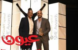 مُنحت شركة تكنوليدج جائزة  SME Gulf Capitalالسنوية كأفضل شركة رائدة في مجال العمل الإلكتروني