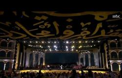 """فنان العرب يغني """"جمرة غضى"""" في #ليلة_بدر_بن_عبدالمحسن"""