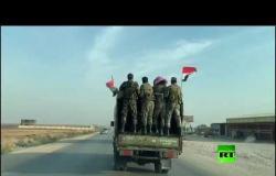 الجيش السوري يعزز من تواجده على الحدود السورية