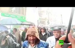 فيديو جديد من احتجاجات الجزائر