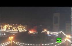 شاهد.. انفجار في ساحة التحرير وسط بغداد