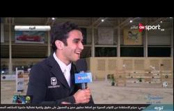 الفارس محمد طاهر زيادة يتحدث عن نتائجه ببطولة مراسم - رباب الدولية للفروسية