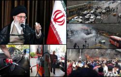 """72ساعة تظاهرات.. إيران بلا إنترنت و""""خامنئي"""" يؤيد رفع أسعار الوقود"""