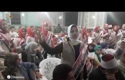 """بـ""""قالولا إيه"""".. فتيات في كفر الشيخ يستقبلن أبطال """"العملية إيلات"""""""
