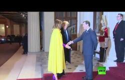 شاهد.. زعماء دول الناتو يصلون قصر بوكهنغام للقاء ملكة بريطانيا اليزبيث الثانية
