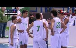 """مباراة كرة السلة بين فريق الإتحاد السكندري والجزيرة - نهائي دوري المرتبط - الشباب""""إياب"""""""