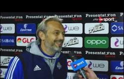 لقاء مع ديسابر المدير الفني لبيراميدز عقب الفوز الكبير على النجوم ( 6 - 1) بمسابقة كأس مصر