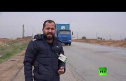 وصول قافلة ضخمة للشرطة العسكرية الروسية إلى مطار القامشلي
