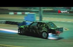 """براعة """"أحمد حازم"""" في تحدي الـ Drift ببطولة REV IT UP"""