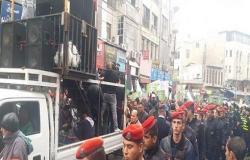 بالصور : مسيرة حاشدة في وسط البلد ضد الاحتلال الإسرائيلي