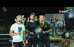 جانب من تكريم المتسابقين بعد الجولة الثانية لعام 2019 من بطولة REV IT UP