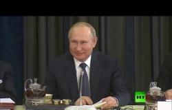 بوتين يتحدث بالألمانية من جديد