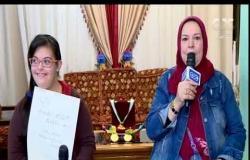 من مصر | ياسمين عبد المنعم: سعيدة بتكريم الرئيس السيسي لحصولي على ميداليات في رياضة القرص والرمح