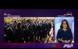 """اليوم - رئيس الوزراء يشهد دخول ماكينة الحفر العميق لمحطة""""ماسبيرو"""""""