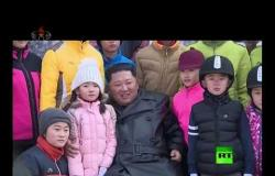 """كيم جونغ-أون مفتتحا منتجع """"يانغ دوك"""": يمكننا تحقيق التنمية حتى في أسوأ المحن"""