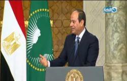 المؤتمر الصحفي بين الرئيس المصري عبد الفتاح السيسي ونظيره رئيس جمهورية جنوب أفريقيا