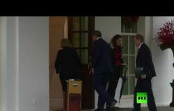 شاهد.. وزير الخارجية الروسي لافروف يصل البيت الأبيض للقاء ترامب