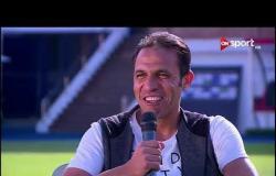 محمد حليم لاعب حرس الحدود السابق يوضح سبب ارتداءه لواقي الرأس الذي تميز به