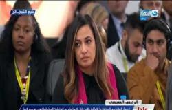 """الرئيس السيسي """" الجيش الوطنى ملوش أهواء ... و هو دا سبب نجاة مصر """""""