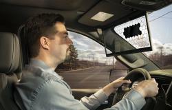 بوش تكشف عن شاشة LCD للوقاية من الشمس في السيارات