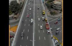 """""""لقطات من الجو"""".. ٥ كباري حديثة تحل أزمة المرور بمصر الجديدة"""