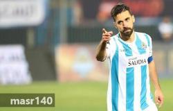 عبد الله السعيد يوقع عقدا لتجديد عقده في بيراميدز