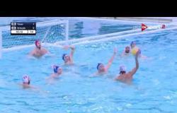 """مباراة بين """"أخشيدي الإسباني VS فاساس المجري"""" - بطولة الجزيرة الدولية لكرة الماء"""