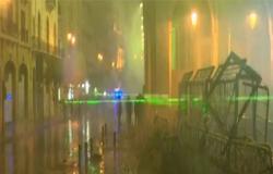 بالفيديو : سلاح جديد في الشارع اللبناني يشتت تركيز رجال الأمن